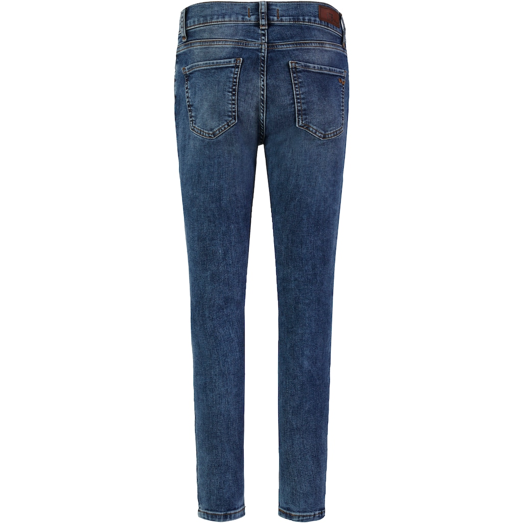 LTB Skinny-fit-Jeans »LONIA«, in extra kurzer Cropped-Länge