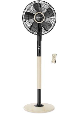 Rowenta Standventilator »Turbo Silence Extreme+ VU5880«, Holzoptik; 5... kaufen