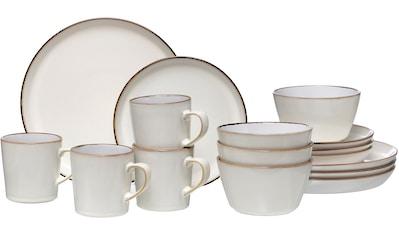 Ritzenhoff & Breker Kombiservice »Kombiservice Visby, 16tlg, Weiß«, (Set, 16 tlg.),... kaufen