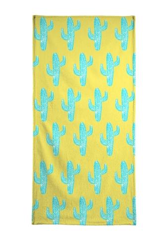 """Handtuch """"Cacti Desert Blue"""", Juniqe kaufen"""