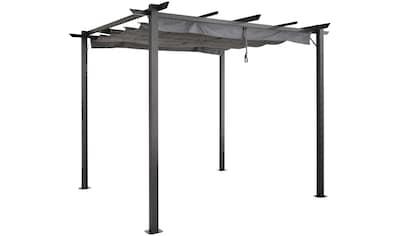 KONIFERA Pavillon »Tilos«, BxL: 295x295 cm, sandfarben kaufen