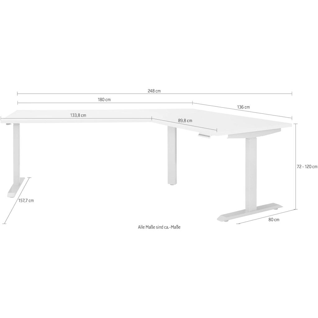 Maja Möbel Schreibtisch »eDJUST Schreibtisch 5510«