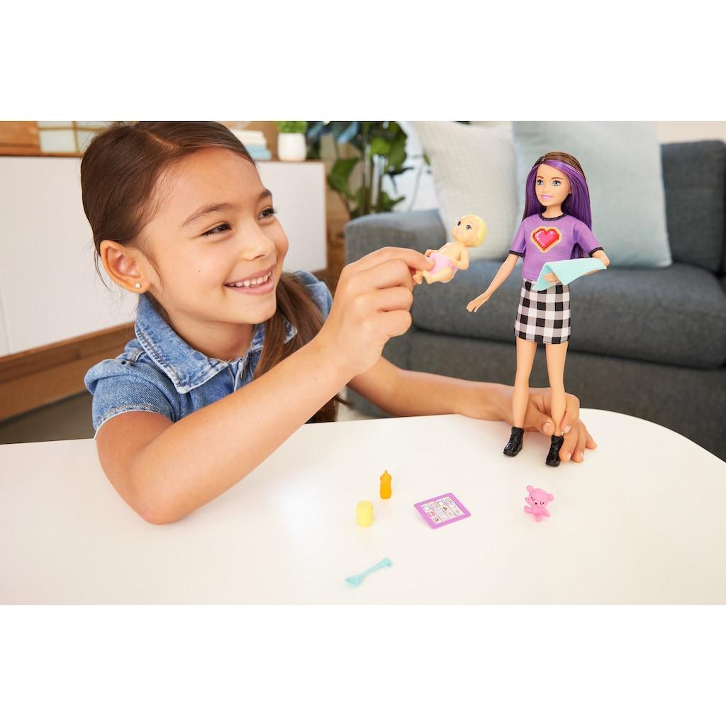 Barbie Anziehpuppe »Skipper Babysitters Inc. Skipper & Baby Puppe«, inklusive Zubehör
