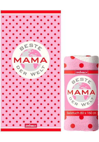"""Badetuch """"Beste Mama"""" kaufen"""