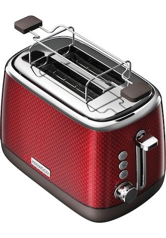 KENWOOD Toaster »Mesmerine TCM811.RD«, für 2 Scheiben, 1000 Watt kaufen