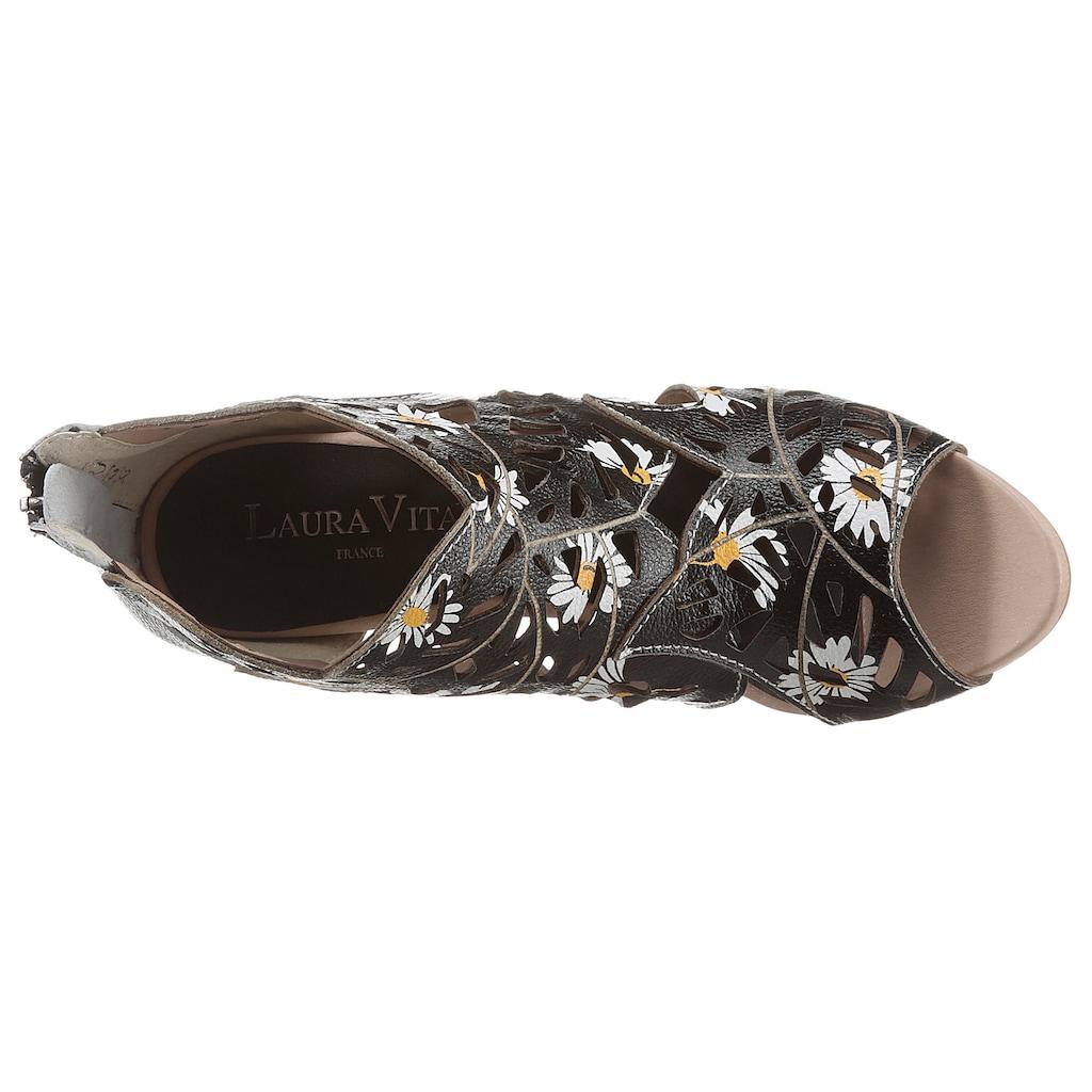 LAURA VITA Sandalette »ALCBANEO«, mit Fersenreißverschluss