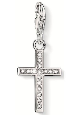 THOMAS SABO Charm-Einhänger »Kreuz, 0049-051-14«, mit Zirkonia kaufen