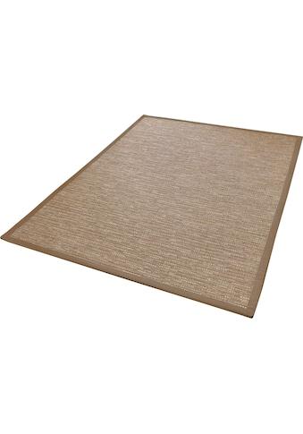Dekowe Teppich »Naturino Effekt«, rechteckig, 8 mm Höhe, Flachgewebe, Sisal-Optik, mit... kaufen