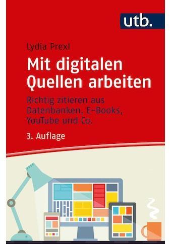 Buch »Mit digitalen Quellen arbeiten / Lydia Prexl« kaufen