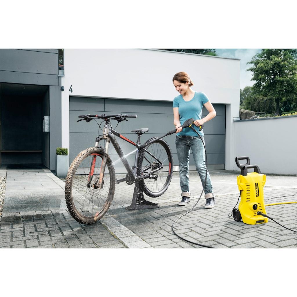 KÄRCHER Hochdruckreiniger »K 2 Power Control«, für die Reinigung von z.B. Fahrrädern, Gartenwerkzeugen oder Gartenmöbeln