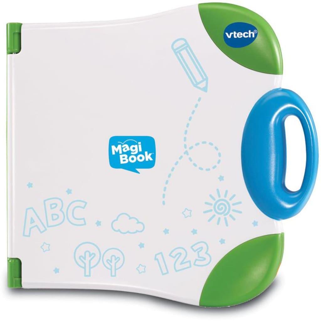 Vtech® Kindercomputer »Interaktives Lernbuchsystem, MagiBook, grün«