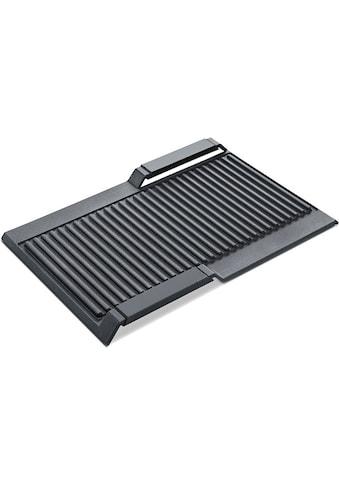 SIEMENS Grillplattenaufsatz »HZ390522«, Aluminium, varioInduktion kaufen