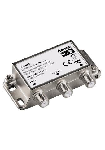 Hama SAT - DiSEqC - Schalter 2 - 1 kaufen