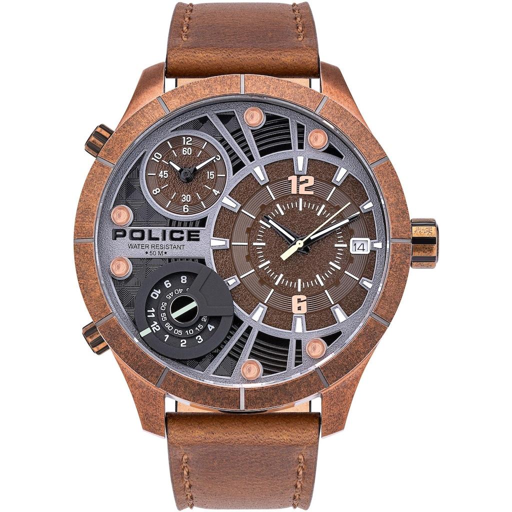 Police Quarzuhr »BUSHMASTER, PL15662XSQR.12«