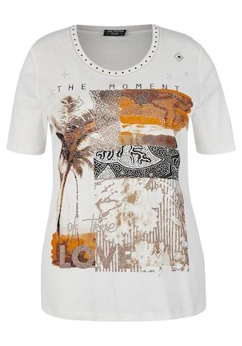 VIA APPIA DUE T-Shirt, mit abstraktem Muster kaufen