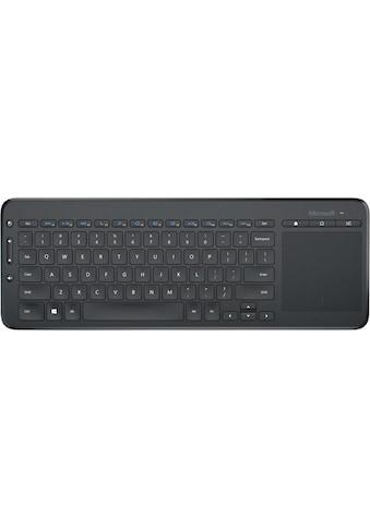 Microsoft »All - in - One Media Keyboard« Tastatur mit Touchpad kaufen