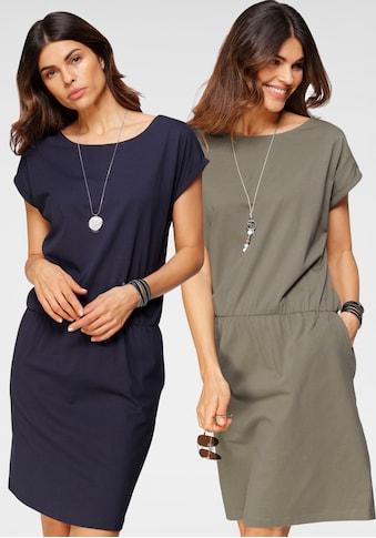 Boysen's Jerseykleid, im Doppelpack kaufen