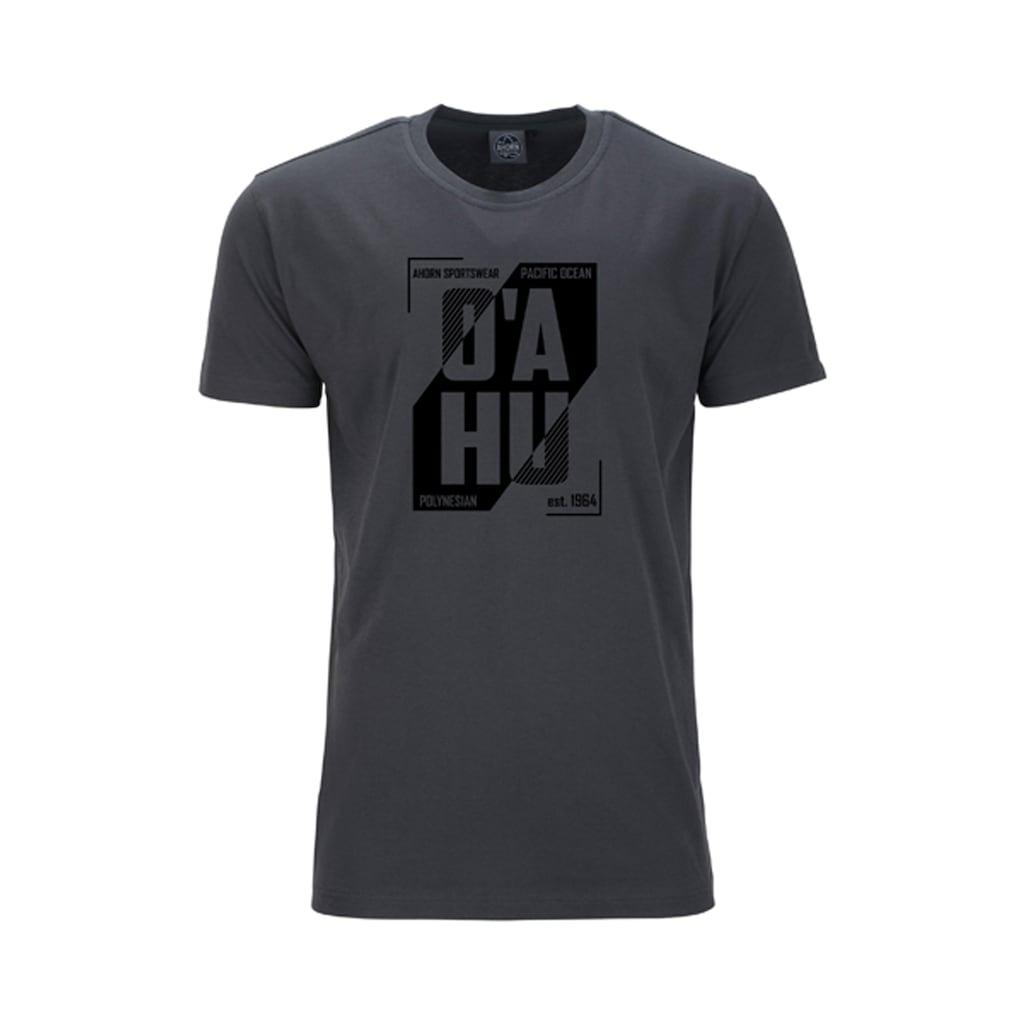 AHORN SPORTSWEAR T-Shirt mit modernem Rundhalsausschnitt