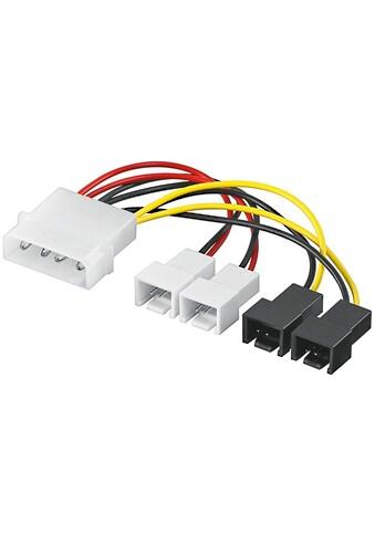 Goobay PC Lüfter Stromkabel/Stromadapter kaufen