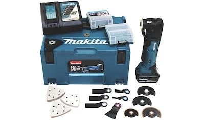 Makita Akku-Multifunktionswerkzeug »DTM51RT1J3«, 18 V, inkl. Zubehör kaufen