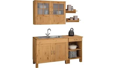 Home affaire Küchen - Set »Alby«, ohne E - Geräte, Breite 150 cm kaufen
