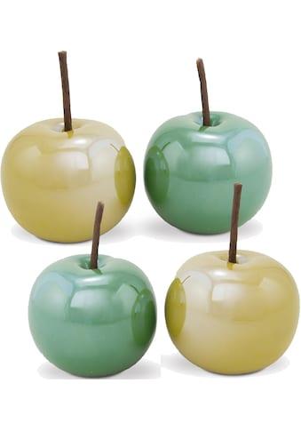"""Dekoobjekt »Apfel """"Green House""""«, Aus Dolomit, Ø ca. 8 cm kaufen"""
