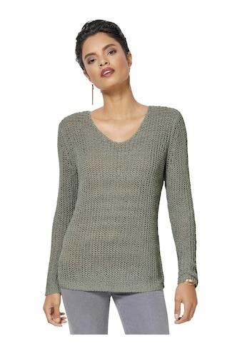 Pullover aus weichem Bändchengarn kaufen