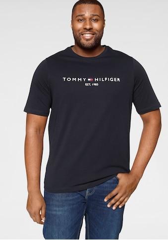 Tommy Hilfiger Big & Tall T-Shirt »BT- TOMMY LOGO TEE« kaufen