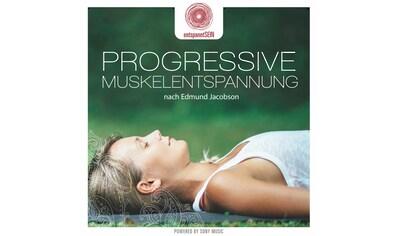 Musik-CD »entspanntSEIN-Progressive Muskelentspannung nach / Jean-Paul Genré« kaufen