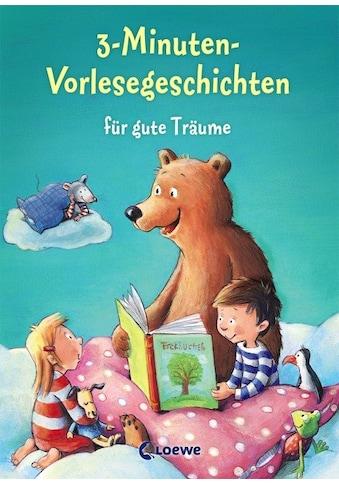 Buch »3-Minuten-Vorlesegeschichten für gute Träume / DIVERSE« kaufen