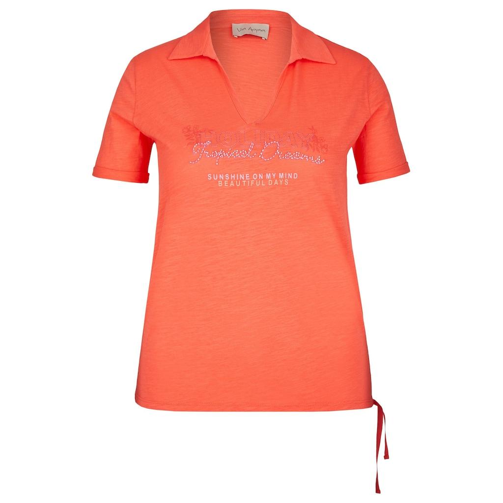 VIA APPIA Sportives Shirt im Polo-Stil