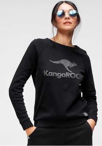 KangaROOS Sweater, mit großem Label-Print vorne kaufen