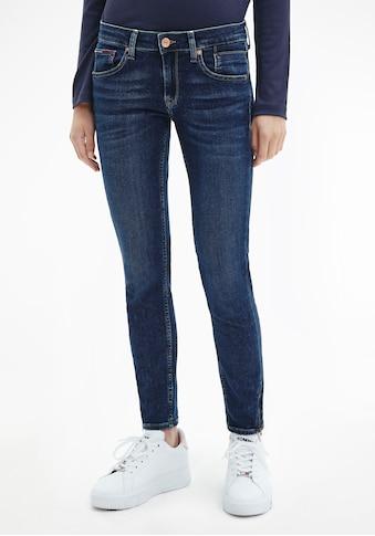 Tommy Jeans Skinny-fit-Jeans »SCARLETT AZ LR SKNY BE154 DBST« kaufen
