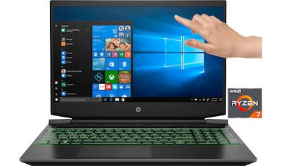 "HP Pavilion  -  15 - ec1239ng 15,6"" Notebook Gaming - Notebook (39,6 cm / 15,6 Zoll, AMD,Ryzen 7,  -  GB HDD, 1000 GB SSD) kaufen"