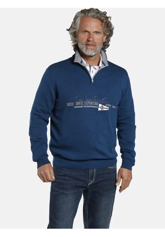 Jan Vanderstorm Troyer »VIGRID«, robuster Strickpullover kaufen