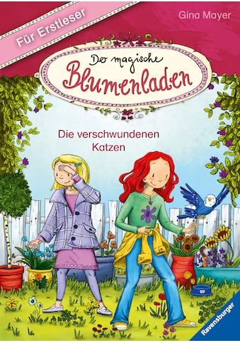 Buch »Der magische Blumenladen für Erstleser, Band 1: Die verschwundenen Katzen / Gina... kaufen