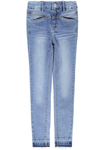 Name It Stretch-Jeans »NKFSALLI«, mit modisch aufgetrenntem Hosensaum kaufen