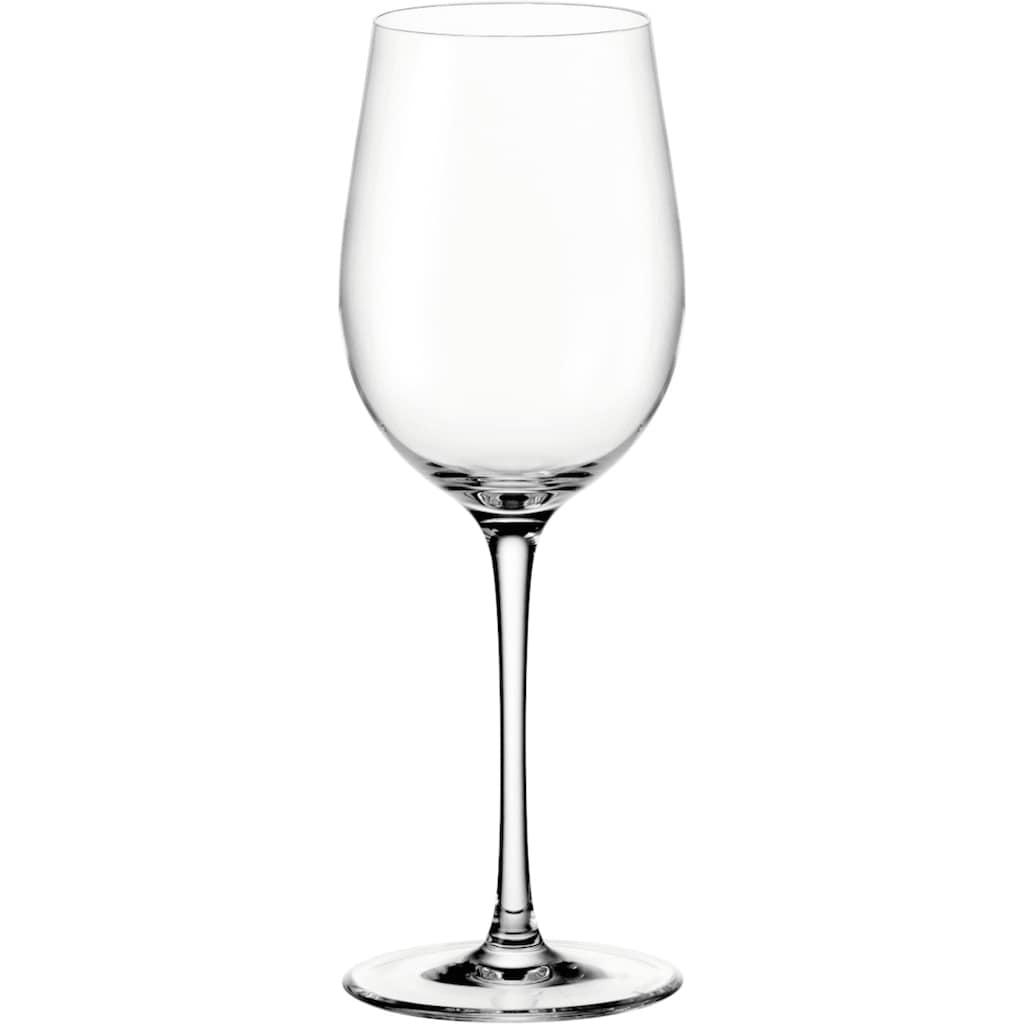 LEONARDO Weißweinglas »Ciao+«, (Set, 6 tlg.), 370 ml, 6-teilig