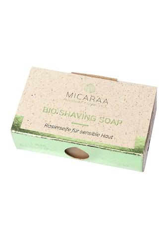 MICARAA NATURAL COSMETICS Rasierseife »Bio Shaving Soap« kaufen