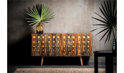 Home affaire Sideboard »Dove«, mit schönen Kreisfräsungen auf der Front unter denen... kaufen