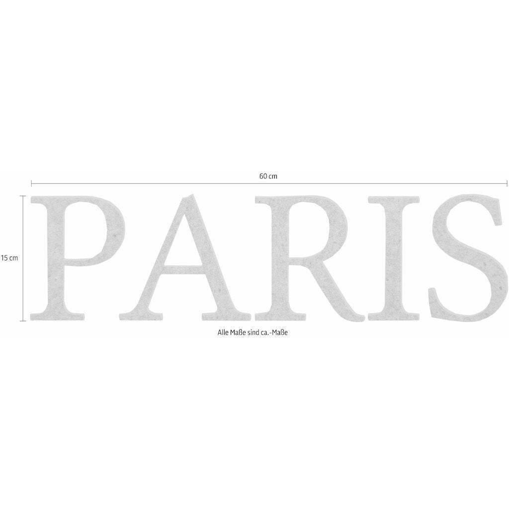 Wall-Art Dekoobjekt »Paris«, 60/15 cm