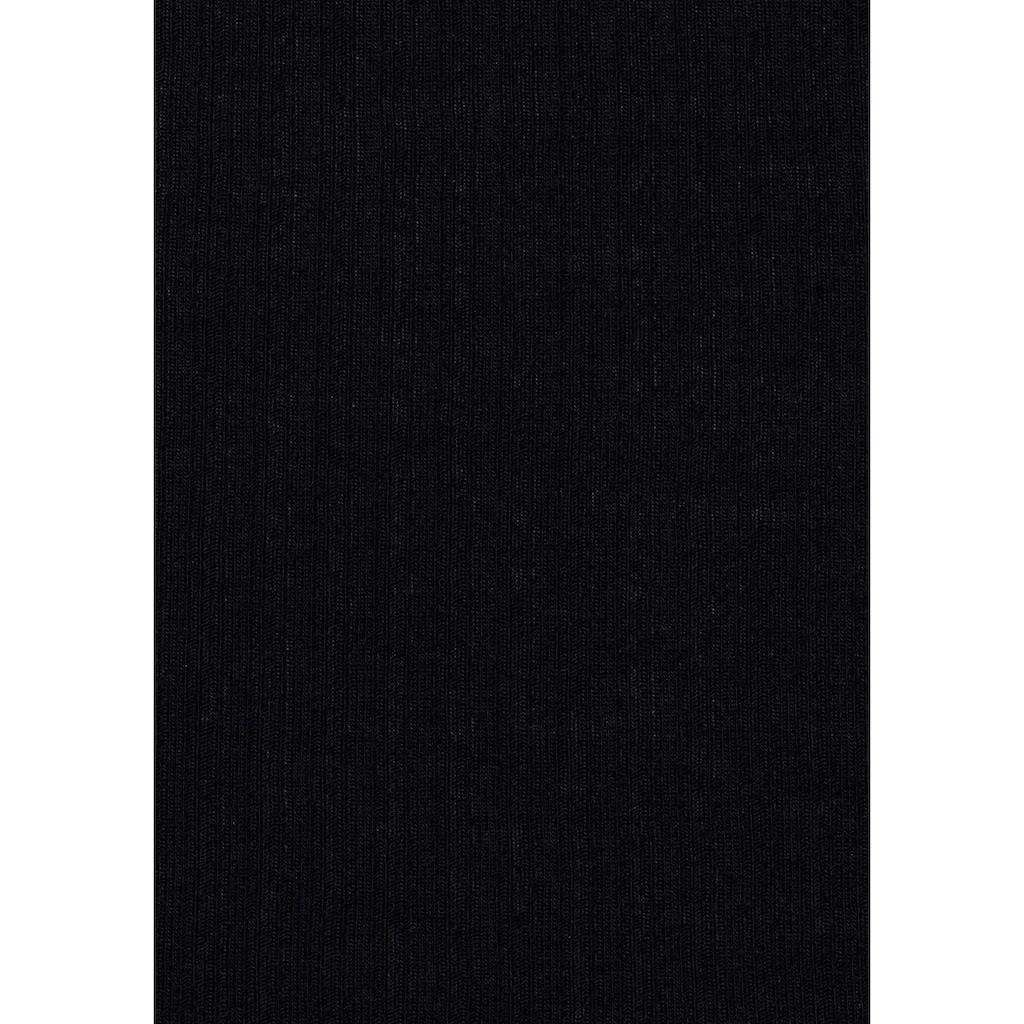 LASCANA Trägertop, (2er-Pack), aus weicher Rippenqualität