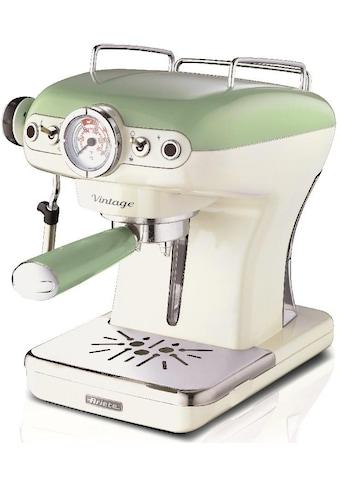 Ariete Espressomaschine »1389 Vintage grün-weiß« kaufen