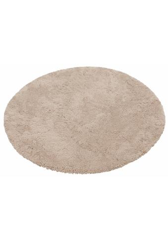my home Hochflor-Teppich »Desner«, rund, 38 mm Höhe, Besonders weich durch Microfaser,... kaufen