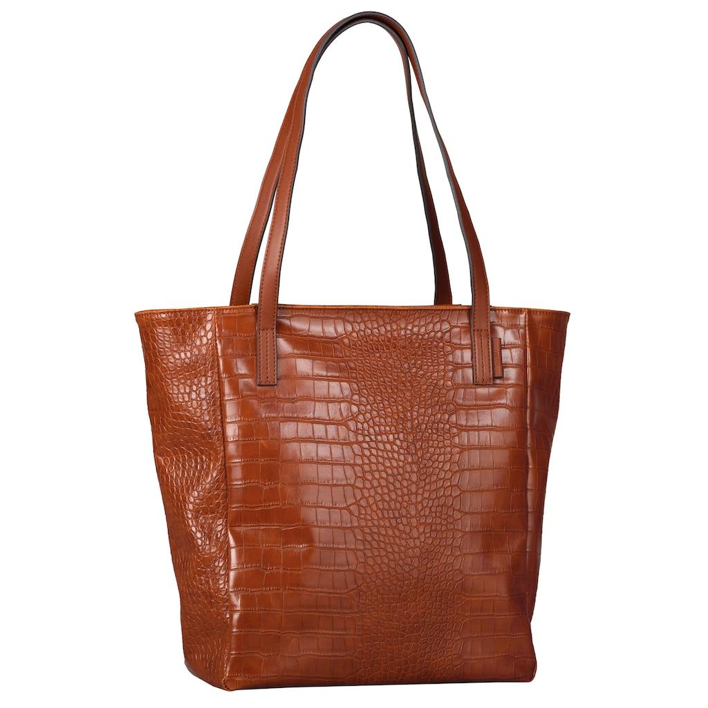 TOM TAILOR Denim Shopper »Arona Croc«
