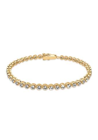Elli Armband »Tennis Armband mit Kristalle Silber« kaufen