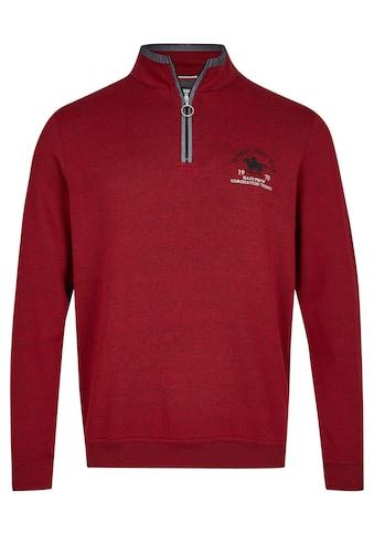 Hajo Sweatshirt, in Tweed-Melange kaufen
