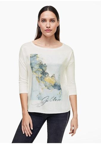 s.Oliver BLACK LABEL 3/4 - Arm - Shirt kaufen