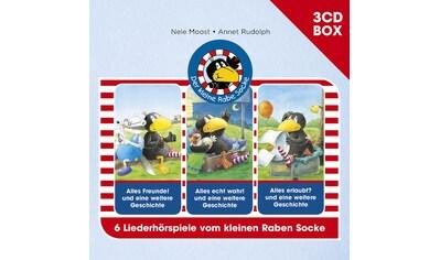 Musik - CD Hörspielbox Vol.1 / Rabe Socke, (3 CD) kaufen