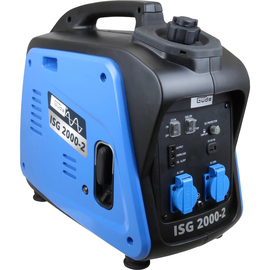 Güde Stromerzeuger »ISG 2000-2«, inkl. zwei 230 V Steckdosen und Ladekabel